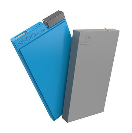 Lepow Unveils Customizable ADD Powerbank with Changeable Power Packs at CES - 3dguy-ces 2017