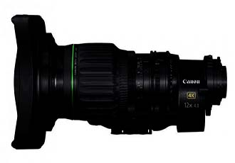 Canon Announces World's First 4K UHD Wide-Angle Broadcast Lens