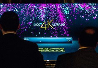Videotron 4k set top UHD TV
