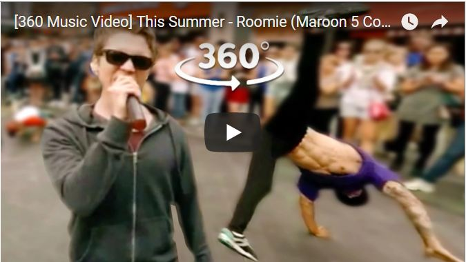 Your Daily Explore 360 VR Fix: 360 Music Video- This Summer - Roomie