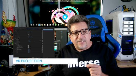 Adobe Premiere Pro CC VR 180 Features